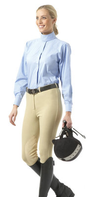 Equistar Front-zip Knee Patch Breeches