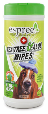 Espree Tea Tree & Aloe Healing Wipes