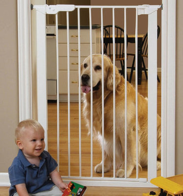 Extra Tall Pressure Mounted Walk-Thru Gate Optional Extention Kit