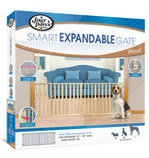 "Extra Wide Expandable Wood Gate, 24"" H"