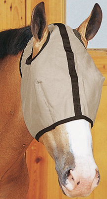 The Equine Executive Fly Mask w/o Ears, Large (horse & arabian)