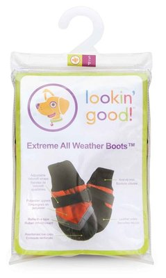 Small Extreme All-Weather Boots, Red/Black