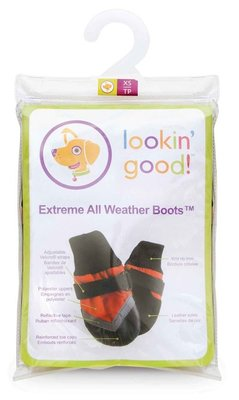 X-Small Extreme All-Weather Boots, Red/Black