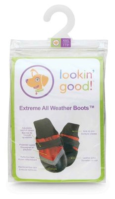 XX-Small Extreme All-Weather Boots, Red/Black
