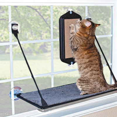 EZ Mount Cat Scratcher, Black