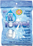 EZ Towels, bag of 50