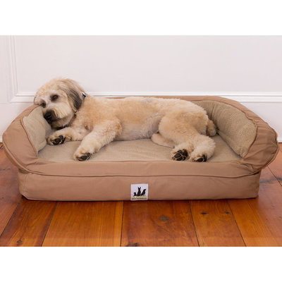 EZ-Wash Fleece Headrest Dog Bed, 27 x 21""