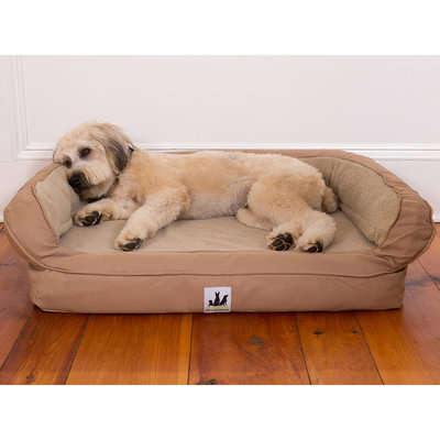 EZ-Wash Fleece Headrest Dog Bed, 35 x 25
