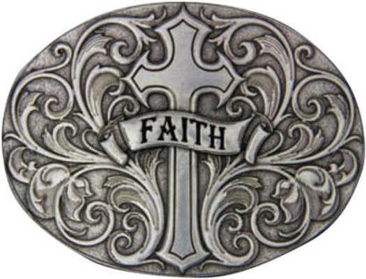 Faith Belt Buckle