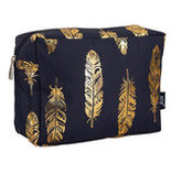 """Fancy Feathers"" Cosmetic Bag"