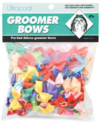 Fancy Groomers Bows, 100 pack