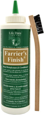 Farrier's Finish Hoof Disinfectant & Conditioner, 16 oz