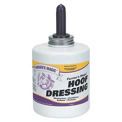 Farrier's Magic Hoof Dressing, qt w/applicator