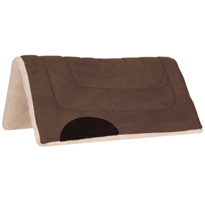 "Faux Suede Pony Saddle Pad , 24"" x 24"""