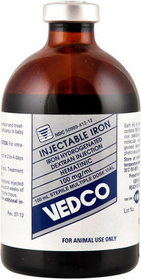 Iron Injectable, 100 ml