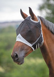 Shires Fine Mesh Fly Mask without Ears