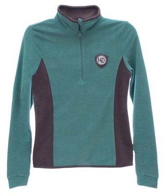 Fiona Half Zip Fleece, Sea Green