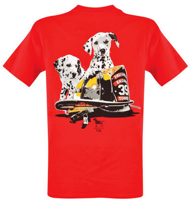 Fire Dogs T-shirt