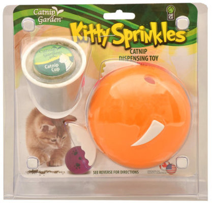 Kitty Sprinkles Catnip Dispensing Toys (& Refills)