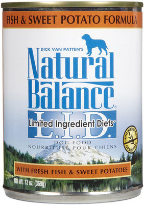 Fish and Sweet Potato Canned Dog Food (case of 12)