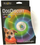 FlashFlight Dog Discuit LED Light-Up Flying Disc