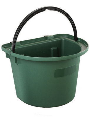 Flat Back Hanging Bucket Feeder, 14 qt