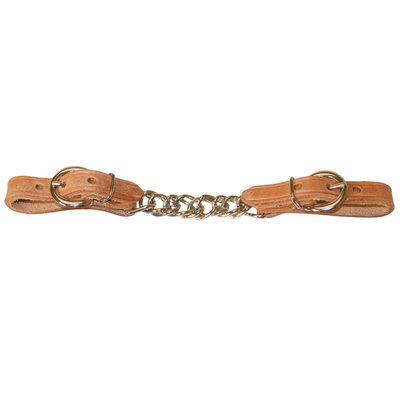 Flat Link Single Curb Chain