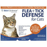 FLEA+TICK DEFENSE for Cats
