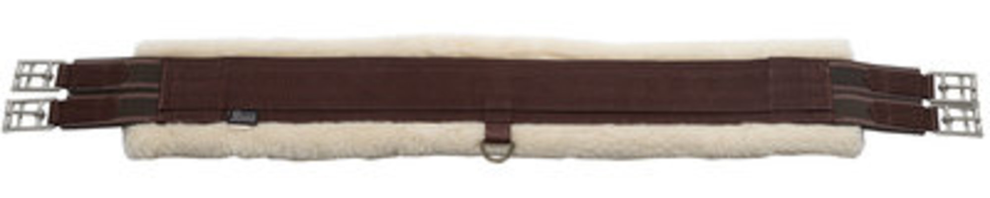 Fleece Lined Girth, Brown