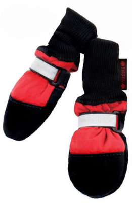 XX-Small Fleece Lined Muttluks, Red