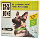 Fly Free Zone Collar for Dogs