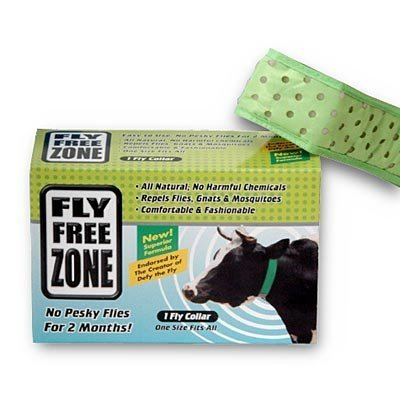 Fly Free Zone Collar for Cows