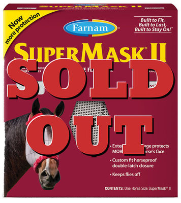 SuperMask II Classic without Ears, Horse [Fly Week]