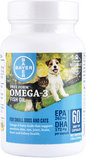 Free Form Omega-3 Fish Oil Capsules, Small Dogs & Cats