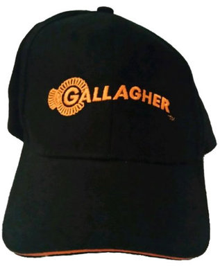 Black Gallagher Cap