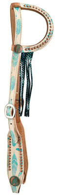 Freedom Feather Sliding Ear Headstall