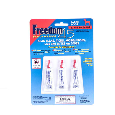 Freedom® 45 Spot-On, 33lb - 66lb (3-month supply)