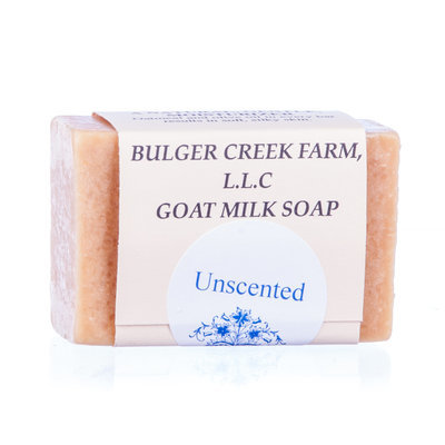 Fresh Goat Milk Soap - Unscented, 4 oz