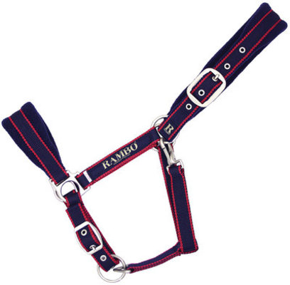 Frugal Friday Rambo Newmarket Padded Halter