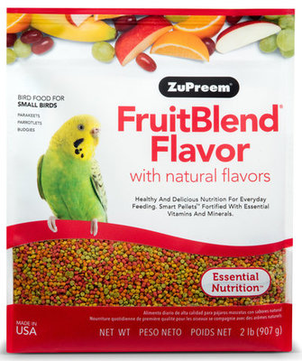 Zupreem FruitBlend Flavor Bird Food
