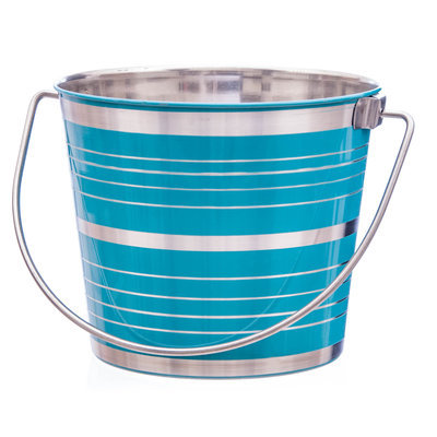 Fruity Stripes Pail, 6 quart