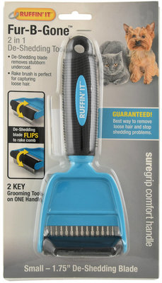 Fur-B-Gone 2-in-1 De-Shedding Tool