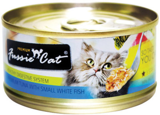 Fussie Cat Food - Healthy Digestion