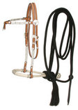 Futurity Browband Bosal & Mecate Set