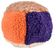 Fuzzy Cube Dog Toy, 5.5""
