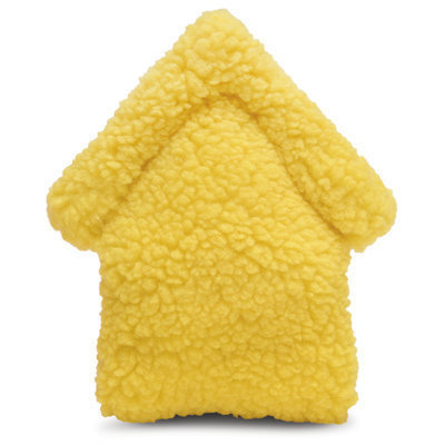 Jeffers Fuzzy House Dog Toy