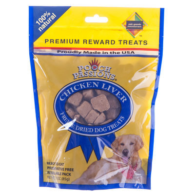 Pooch Passions® Freeze Dried Liver Treats