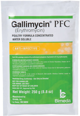 Gallimycin Powder, 250 gram