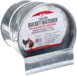 Little Giant Bucket Poultry Waterer, 1 gallon