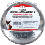 Round Hanging Chicken Waterer, 16 oz